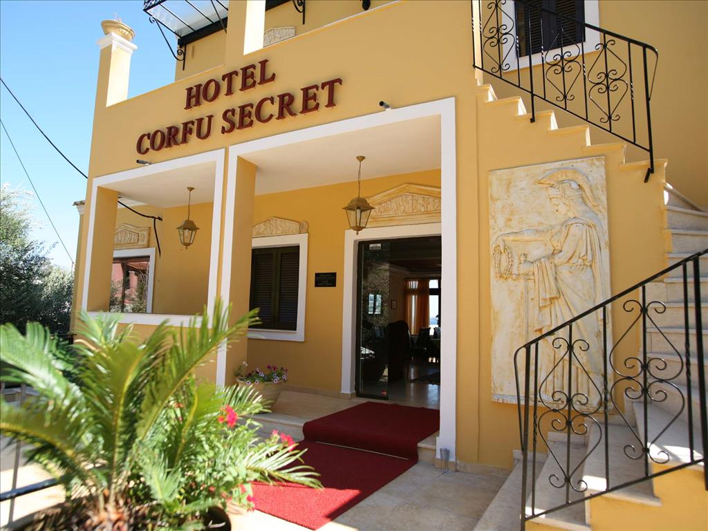 Corfu secret boutique hotel corfu 3 greece for Secret boutique hotels