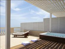 Marbella Corfu Hotel : Junior Suite Panorama with whirlpool SV terrace