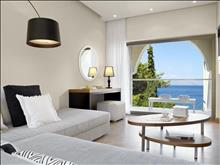 Marbella Corfu Hotel : Suite Sea View Living area